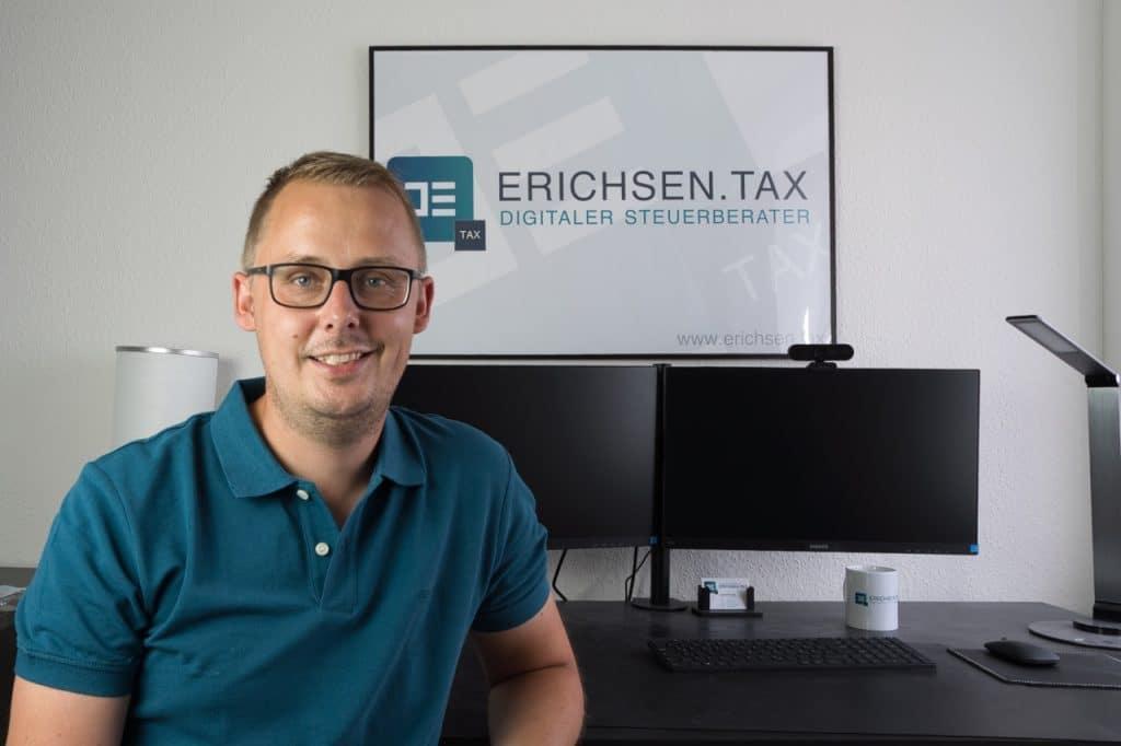 erichsen.tax - Digitaler Steuerberater für E-Commerce