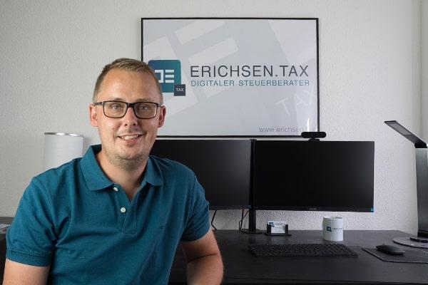 Jan Erichsen - digitaler Steuerberater E-Commerce